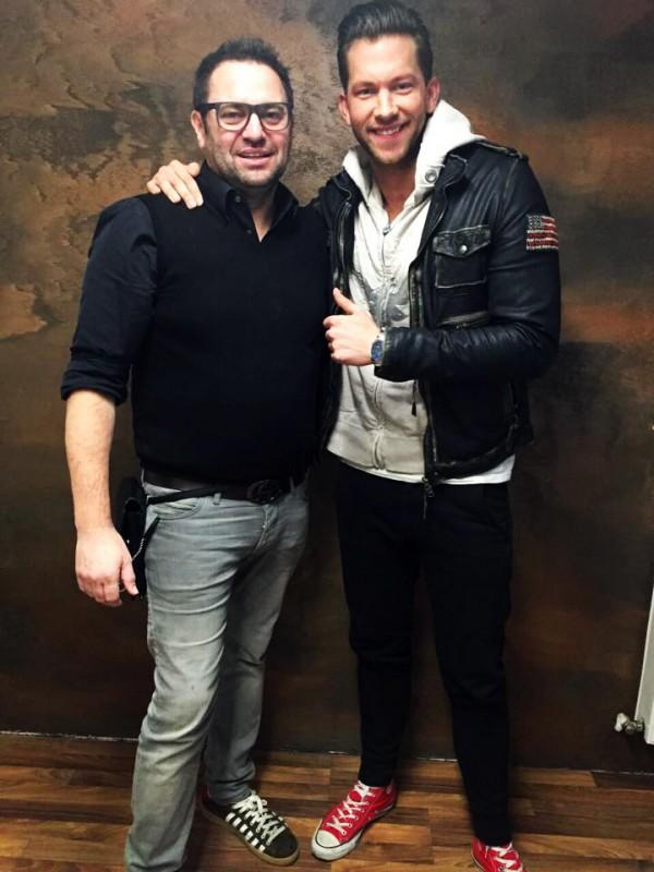 Udo Schröder mit Oliver Sanne – Bachelor 2015