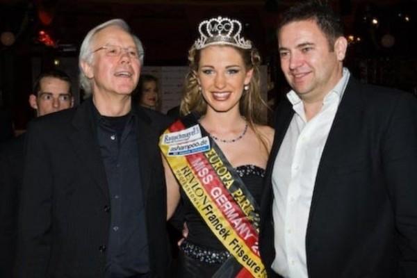 Miss Germany 2008 und Bernhard Huber